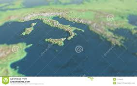 Europe Physical Map by Europe And Italy Physical Map Stock Photos Image 27355023