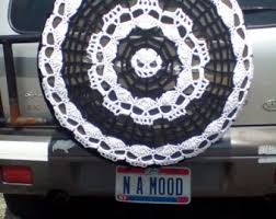 tire cover for honda crv hippie peace sign with flowers tire cozy spare tire cover