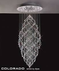 Bathroom Chandeliers Uk by Colorado Crystal Stairwell Light