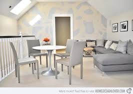 Living Rooms With Printed Wallpapers Home Design Lover - Wallpaper for family room