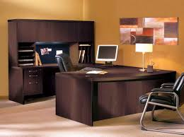 Black Wood Office Desk Usefulness Office Desk With Hutch Home Painting Ideas