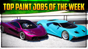 top 7 paint jobs of the week vice city colors cotton candy pink