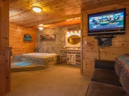 Log Vanity Luxury Cabin Private Sleeps 14 N F L Sun Vrbo