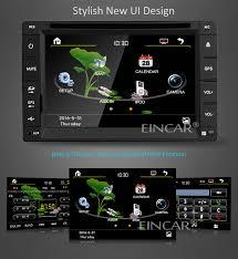 eincar online eincar in dash 6 2 inch double din car stereo in