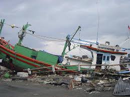cc a shot of the purtakennedy fishing boat tossed ashore near