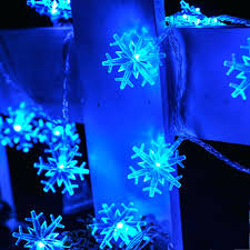 snowflake string of lights snowflake string lights 7 colors battery operated icicle led