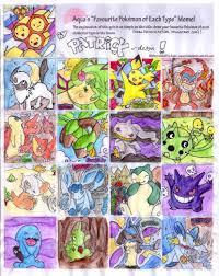 Favorite Pokemon Meme - favorite pokemon meme by patrick dessin on deviantart