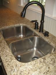 kitchen sinks undermount oil rubbed bronze sink double bowl