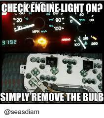 where to get check engine light checked check engine light on 120 ou 60 s20 40 90 o so 140 160 100 mph kmh