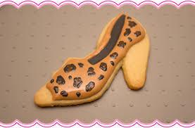 leopard print cookies