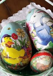 paper mache easter eggs german paper mache easter eggs german easter traditions