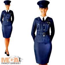 wraf ladies fancy dress raf pilot uniform ww2 1940s womens