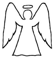 angels outline coloring page color luna