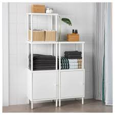 dynan shelving unit with 2 cabinets ikea