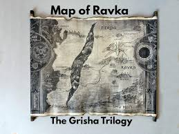 Eragon Map Map Of Ravka Scroll The Grisha Trilogy Map Ravka Map