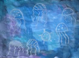 watercolor u0026 chalk jellyfish fun family crafts