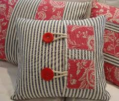 handmade vintage pillows that are new handmade by artists