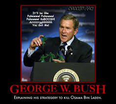 political memes george w bush osama bin laden strategery