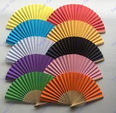 wedding fans in bulk bulk multi colours personalised paper fans wedding ceremony fans