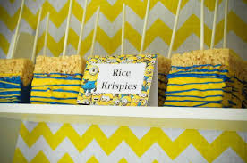 minions centerpieces kara s party ideas despicable me minion themed birthday party