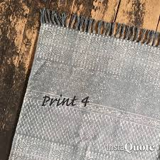 Grey Dhurrie Rug Faded Cotton Dhurrie Rug By French Grey Interiors
