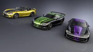 Dodge Viper Final Edition - 2010 dodge viper srt10 custom special editions for top dealers