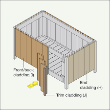 How To Build A Shed Out Of Scrap Wood by Build A Deck Box
