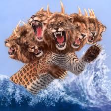 headed wild beast revelation 13 bible
