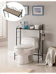 Bathroom Over Toilet Storage Over The Toilet Storage Amazon Com