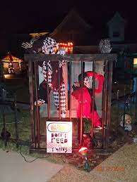 halloween party decorating ideas scary brown asylum outdoor halloween decorations carnival circus