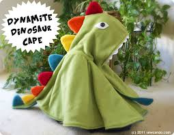 sew can do dynamite dinosaur cape u0026 kid u0027s costume pattern