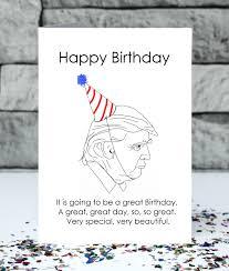 donald trump birthday card very beautiful birthday card