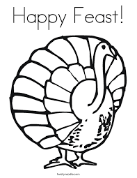 thanksgiving coloring pages twisty noodle