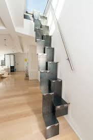 Inside Home Stairs Design These Metal Stairs Lead To A Roof Deck Stairs Designs Of