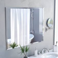 frameless mirrors you u0027ll love wayfair