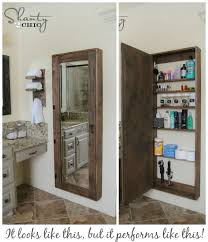 bathroom mirrors with storage ideas bathroom storage solutions small space hacks tricks bathroom