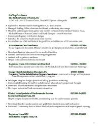 patient care coordinator resume 2016 patient care coordinator