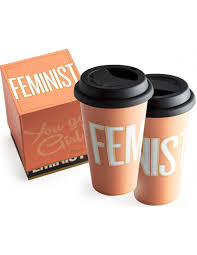 Unique Gifts by Feminist Travel Mug You Go Collection Rosanna Feminist
