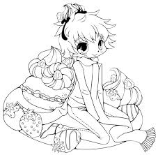cute chibi coloring pages free coloring pages for kids 17