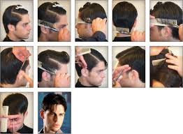 mens haircuts step by step hair salon international middle east edition