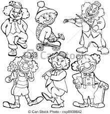 clown graphics 89 clown graphics backgrounds clowns vector illustration on a white background vector