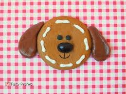 no bake gingerbread heads party pinching