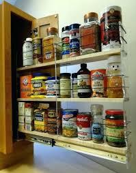 Cabinet Door Mounted Spice Rack Door Mounted Spice Rack Spice Door Mounted Spice Racks For