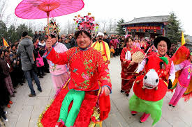 traditional activities held to er yue er in e china