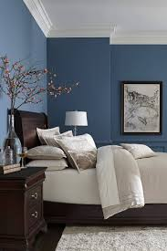 bedroom blue gray color scheme bedroom light grey wall paint
