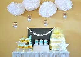 baby shower table settings elegant baby shower table setting ideas sprinkle easy party setup