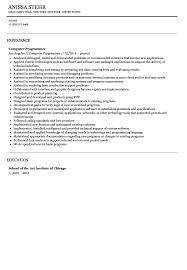 Kronos Resume Computer Programmer Resume Examples Senior Applications