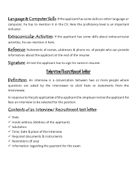 Resume Definition Job by Job Letter U0026 Resume Writing