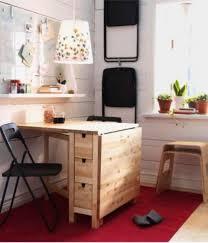 Small Desk Table Norden Gateleg Table As A Small Desk Ikea Hacks Pinterest