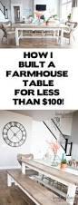 Wood Table Blueprints Best 20 Farmhouse Table Ideas On Pinterest Diy Farmhouse Table